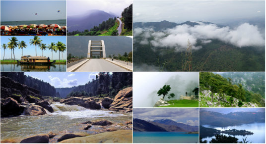 Top 10 Summer Spots in India