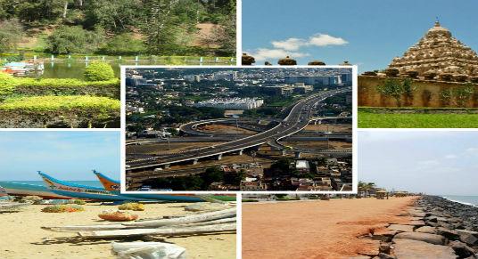 tourist places in Tamil Nadu